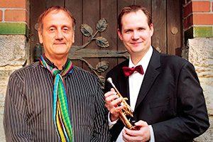 Hans-André Stamm und Martin Schröder
